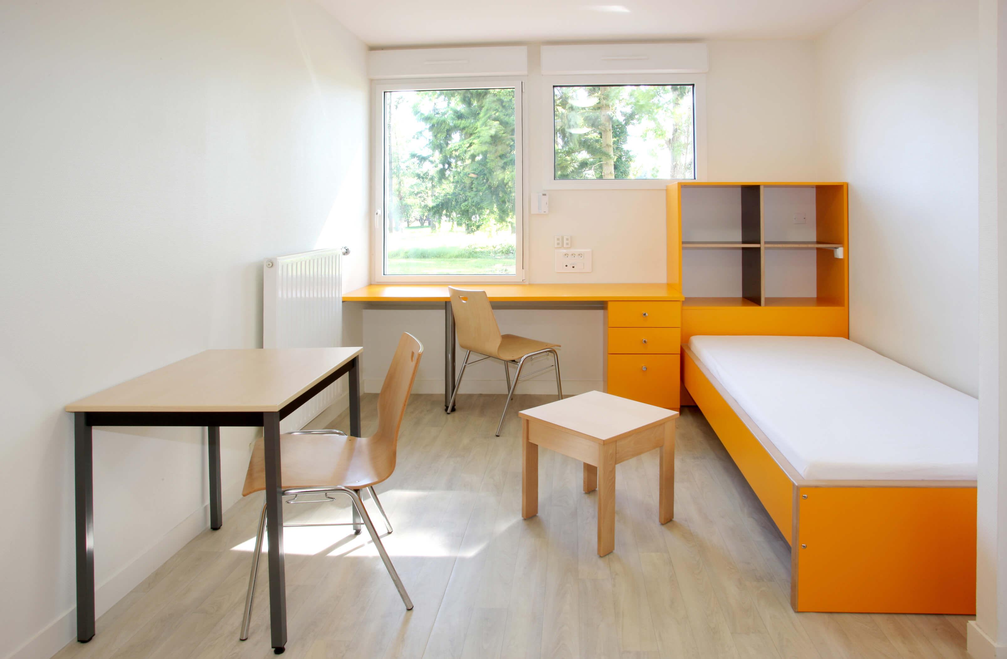 Mobilier d'agencement – Chambre universitaire