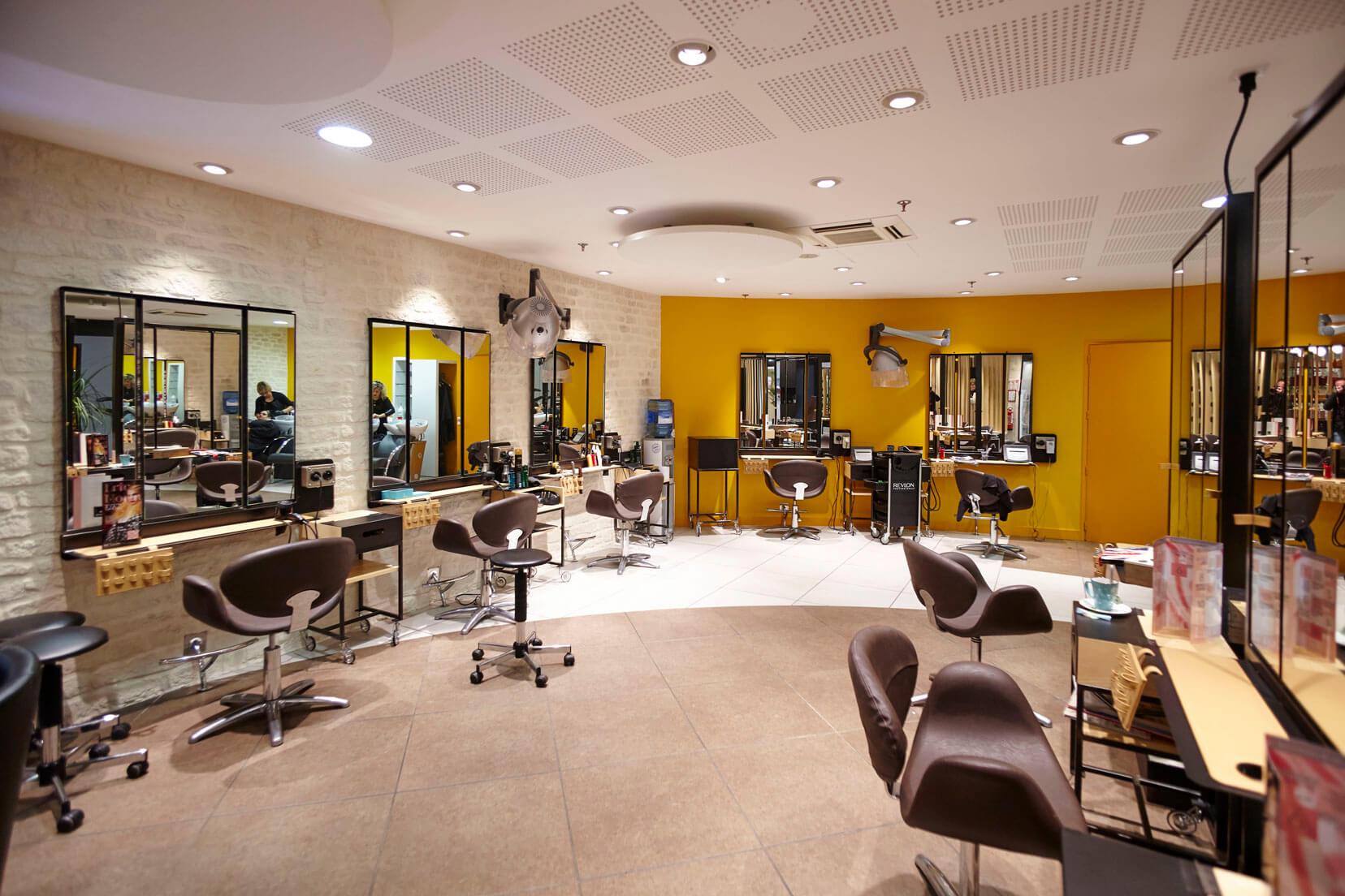 Salon de coiffure : Mobilier d'agencement